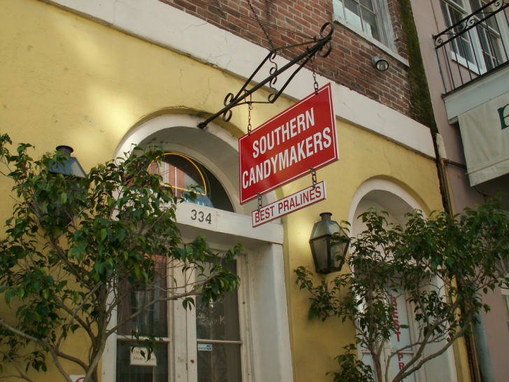 Sign for Southern Candymakers in New Orleans.