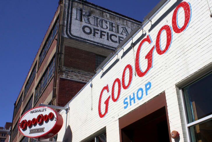 The Goo Goo Cluster Shop in Nashville.