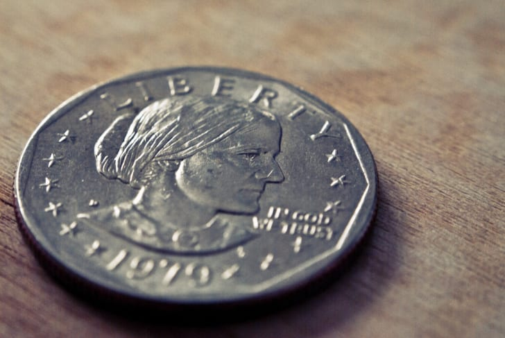 Susan B. Anthony on the one-dollar coin