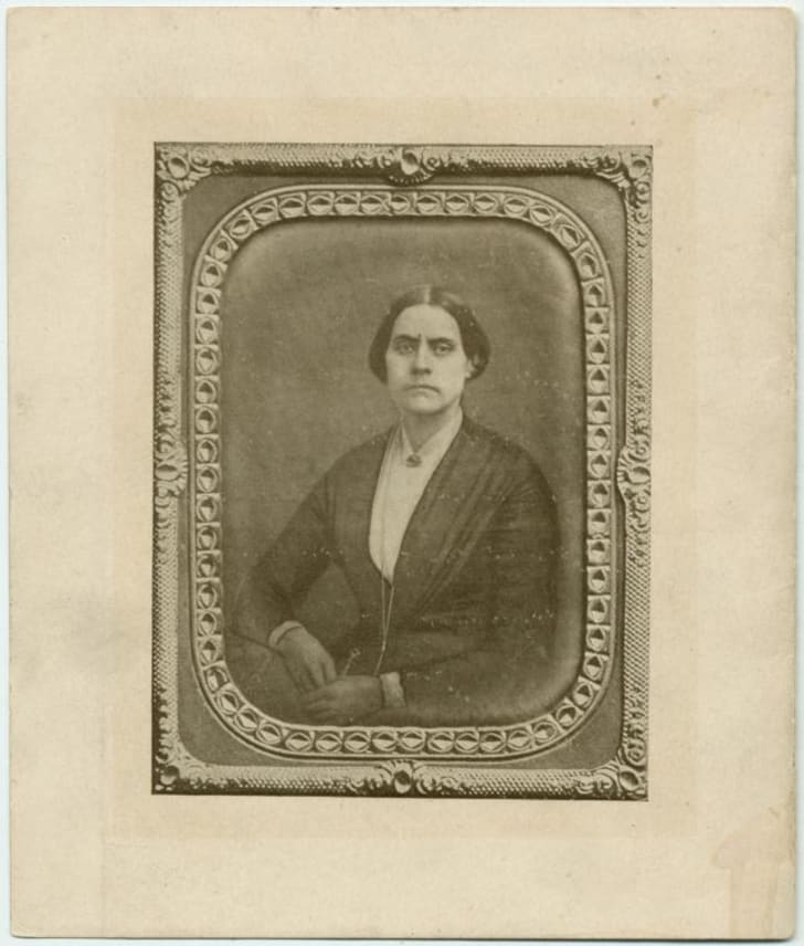 Susan B. Anthony in her younger years