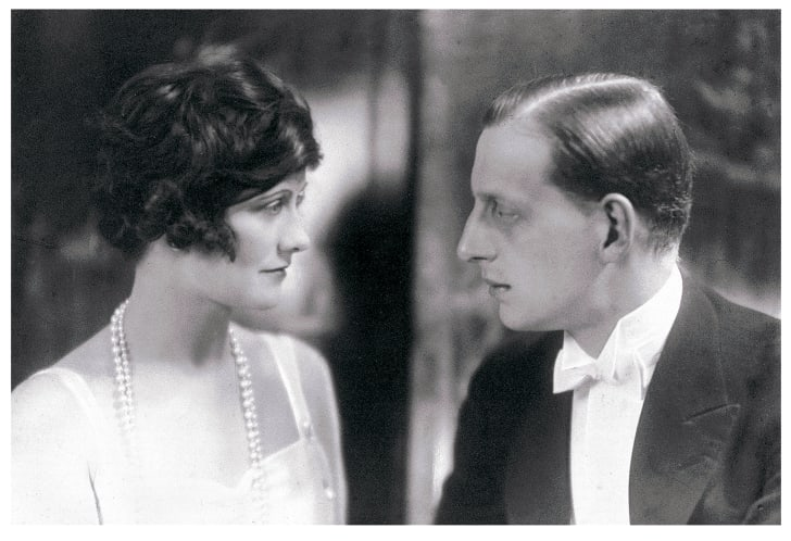 Gabrielle Chanel and Grand Duke Dmitri Pavlovich of Russia, circa 1920.