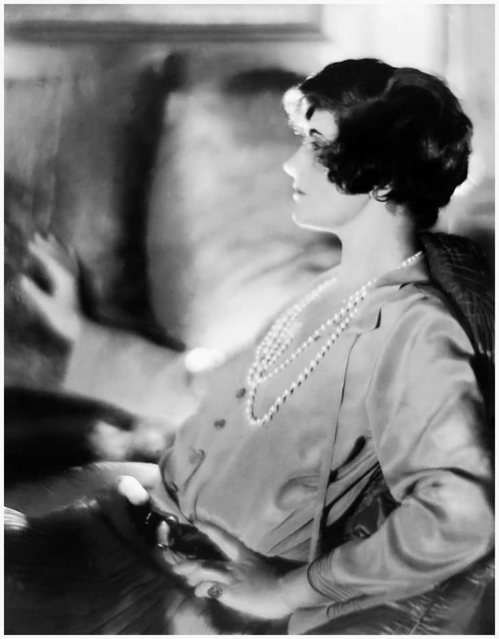 Coco Chanel, circa 1920.