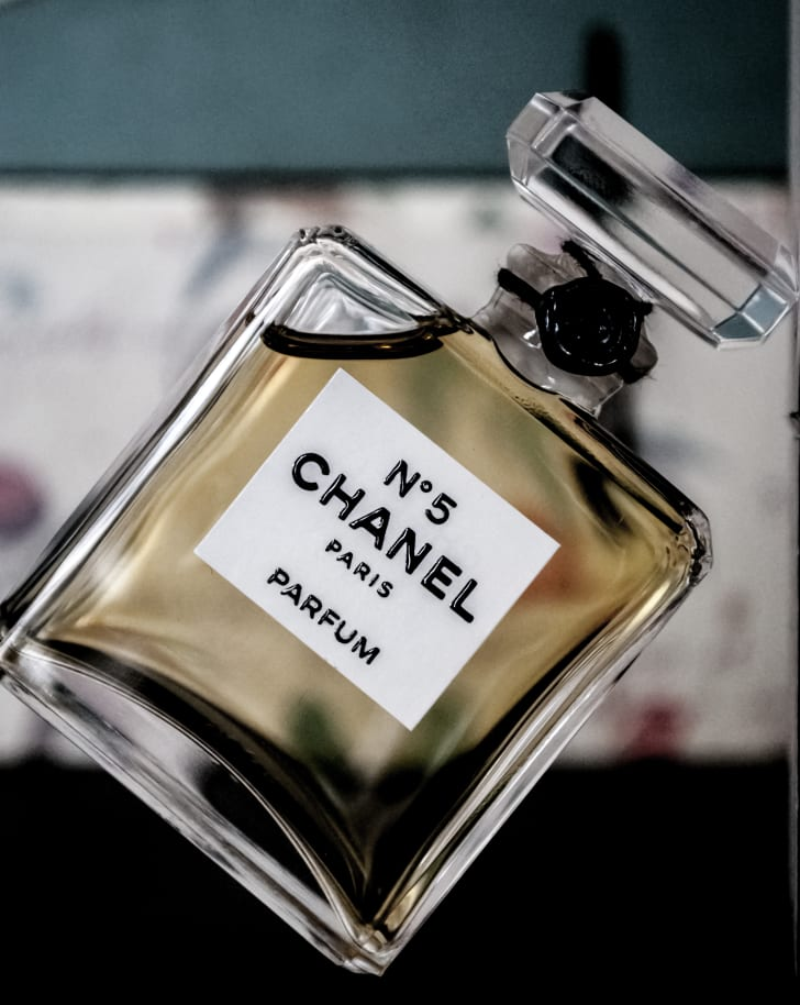 Bottle of Chanel No. 5
