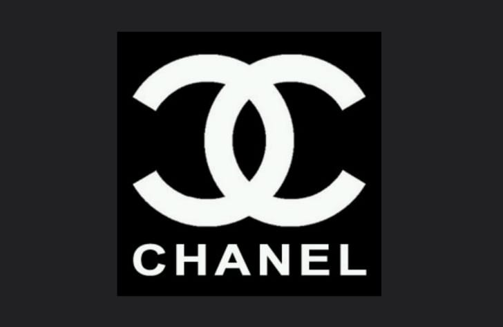 The Chanel interlocking Cs logo
