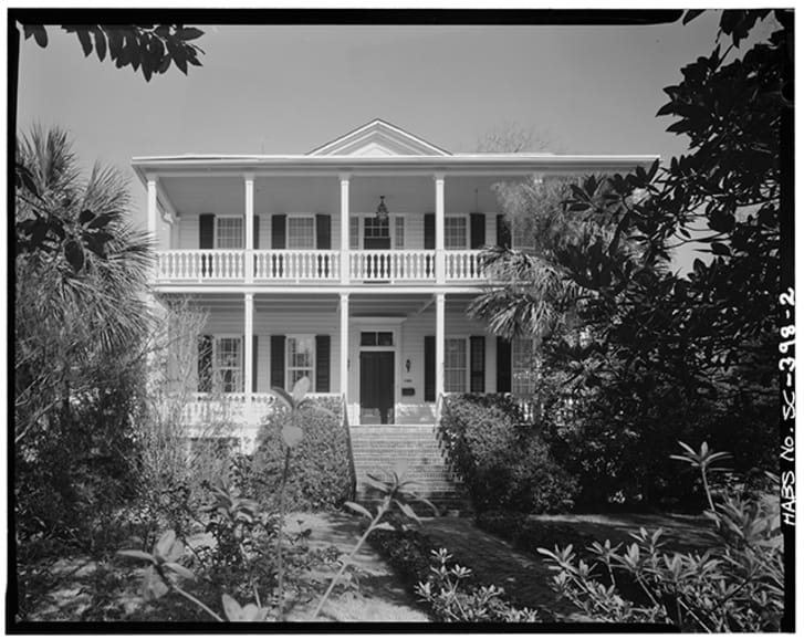 The McKee-Smalls House in Beaufort, South Carolina