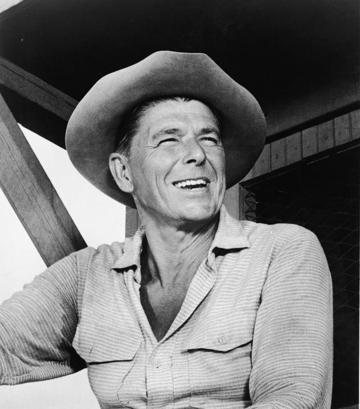 Ronald Reagan in 1965.