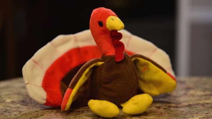 Gobbles the Turkey Beanie Baby
