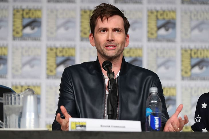 David Tennant speaks onstage during the 'Call of Duty: WWII Nazi Zombies' Panel at San Diego Convention Center on July 20, 2017 in San Diego, California