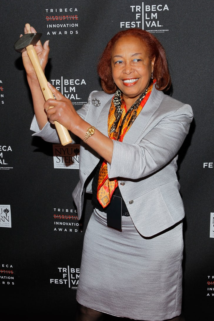 Dr. Patricia Bath of Laserphaco in 2012