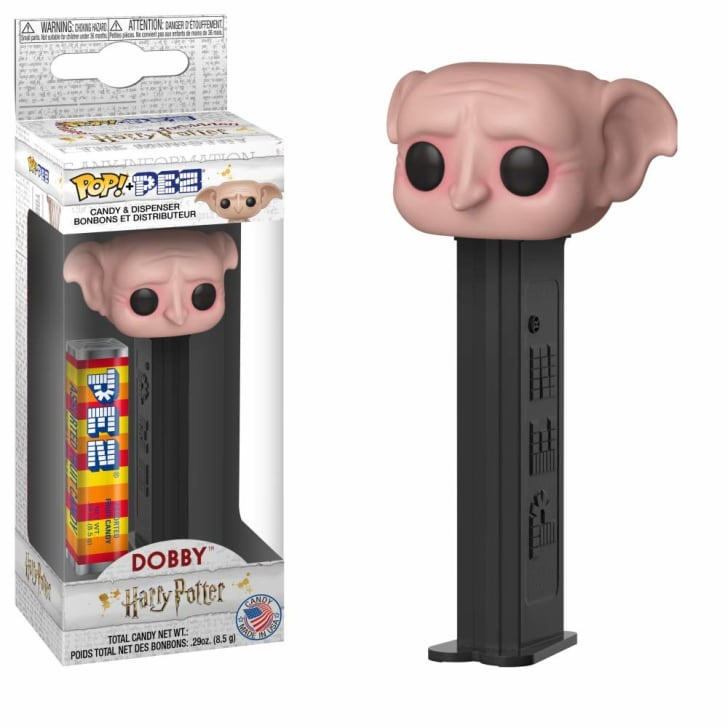 Funko Pez dispenser of Dobby the house elf.