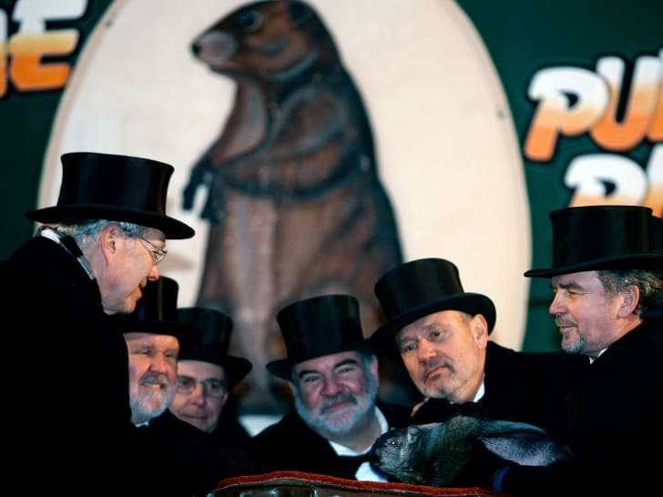 Members of Punxsutawney's 'Inner Circle.'