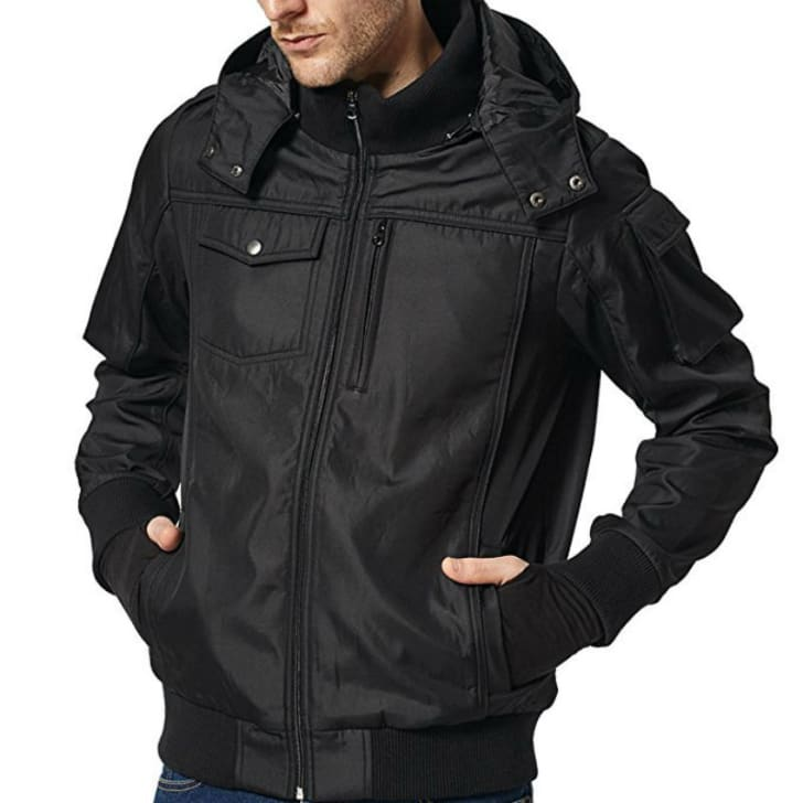 A Bombax travel jacket is pictured