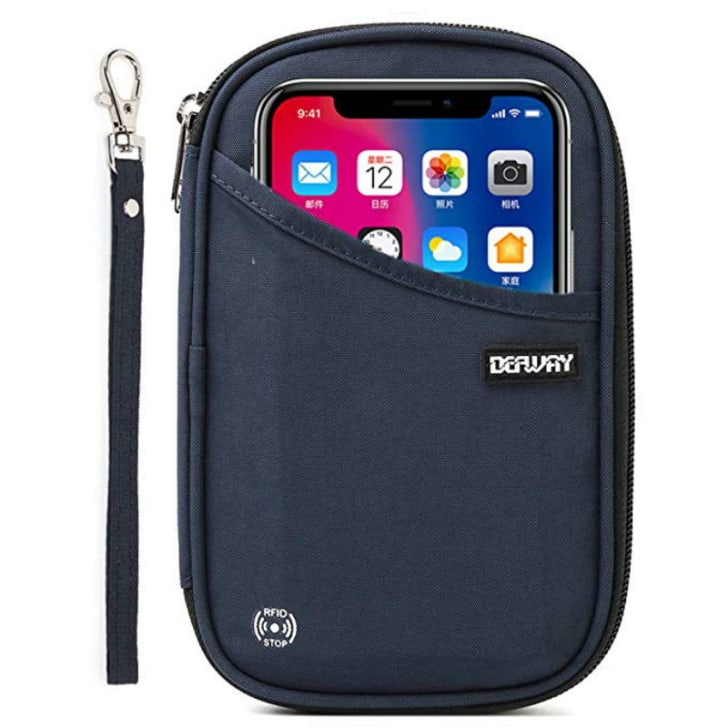 A defway RFID travel wallet