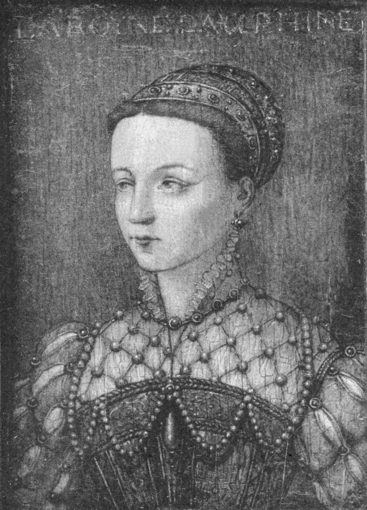 Mary Stuart, Queen of Scots, circa 1558.