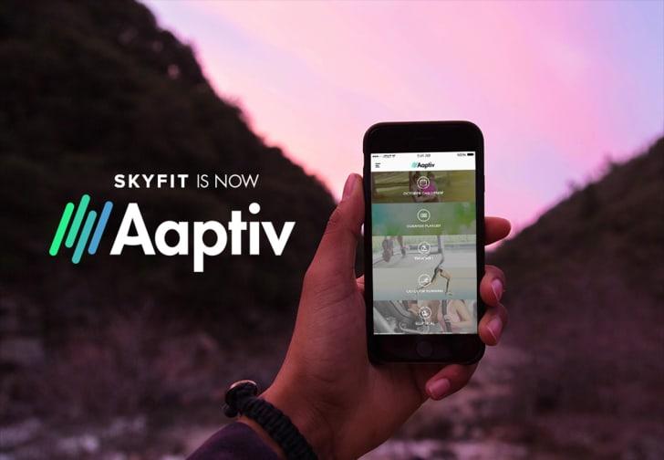 The Aaptiv app
