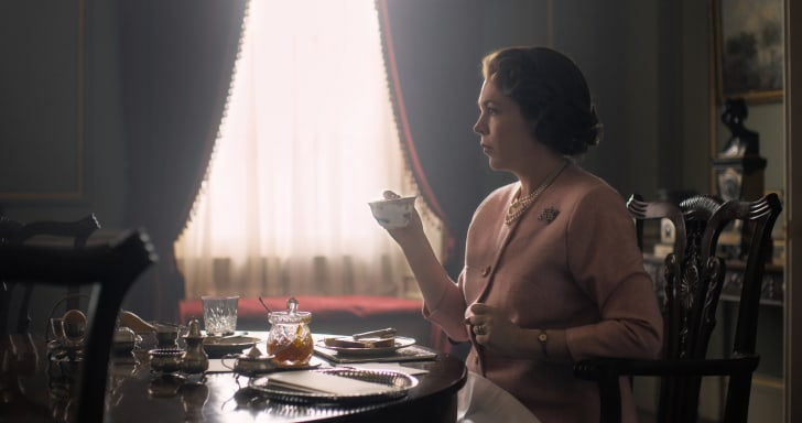 Olivia Colman in 'The Crown'