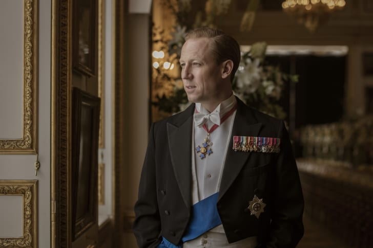 Tobias Menzies in 'The Crown'