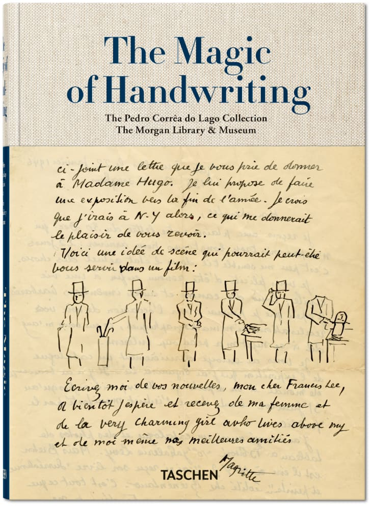 A cover of the book 'The Magic of Handwriting'