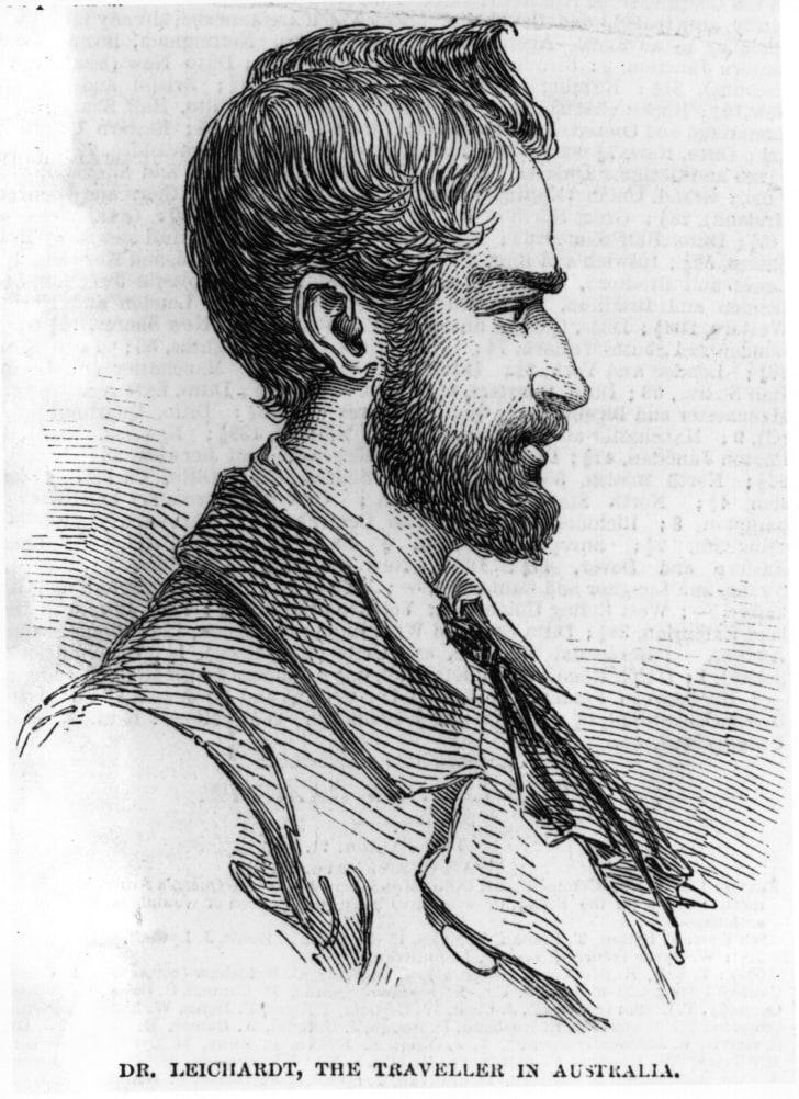 Ludwig Leichhardt, German explorer