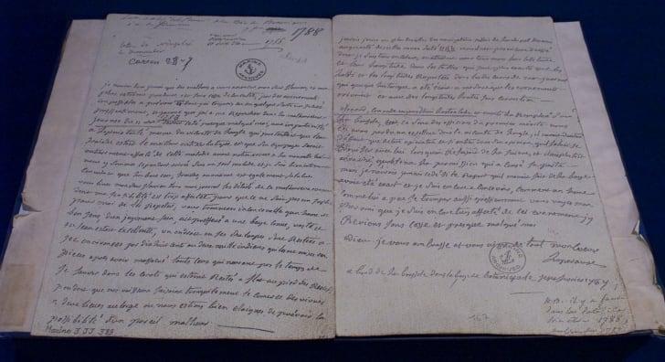 La Perouse's last letter