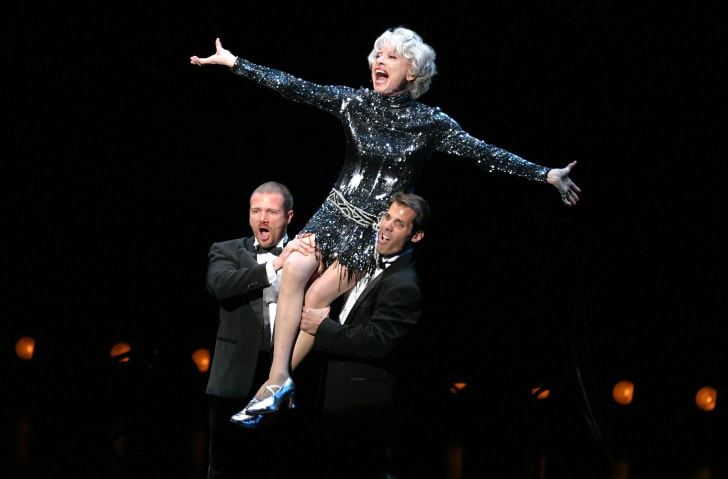 Carol Channing performs in 2003.
