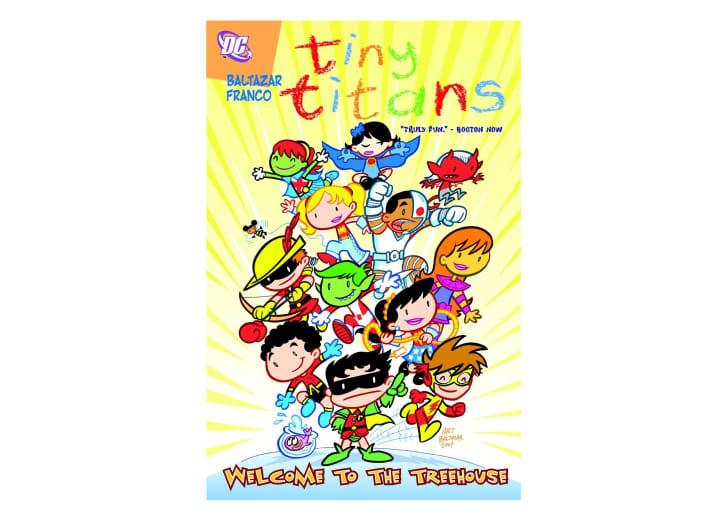 The cover of Tiny Titans Vol. 1