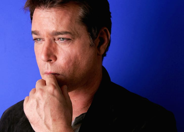 Actor Ray Liotta poses for a portrait while promoting the film 'Slow Burn' at the Toronto International Film Festival September 12, 2005 in Toronto, Canada