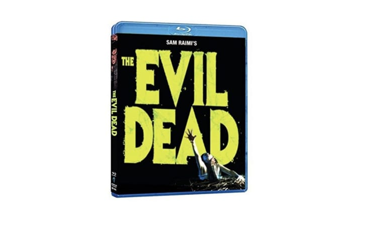 Blu-ray copy of Sam Raimi's 'The Evil Dead'