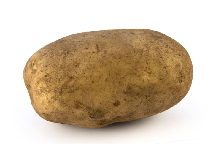 A photo of a potato