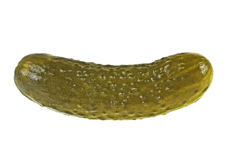Photo of a pickle