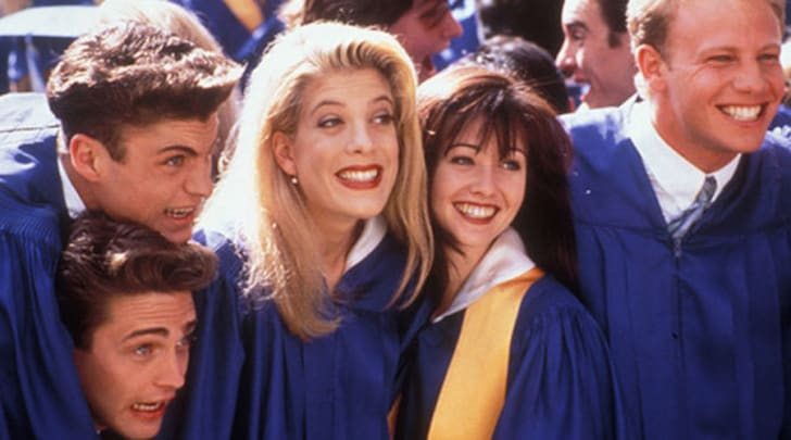 A still from 'Beverly Hills, 90210'