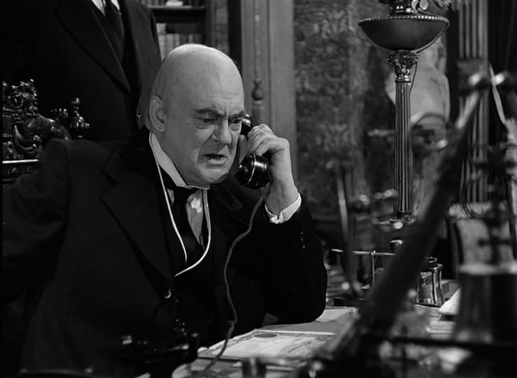Lionel Barrymore in It's a Wonderful Life (1946)