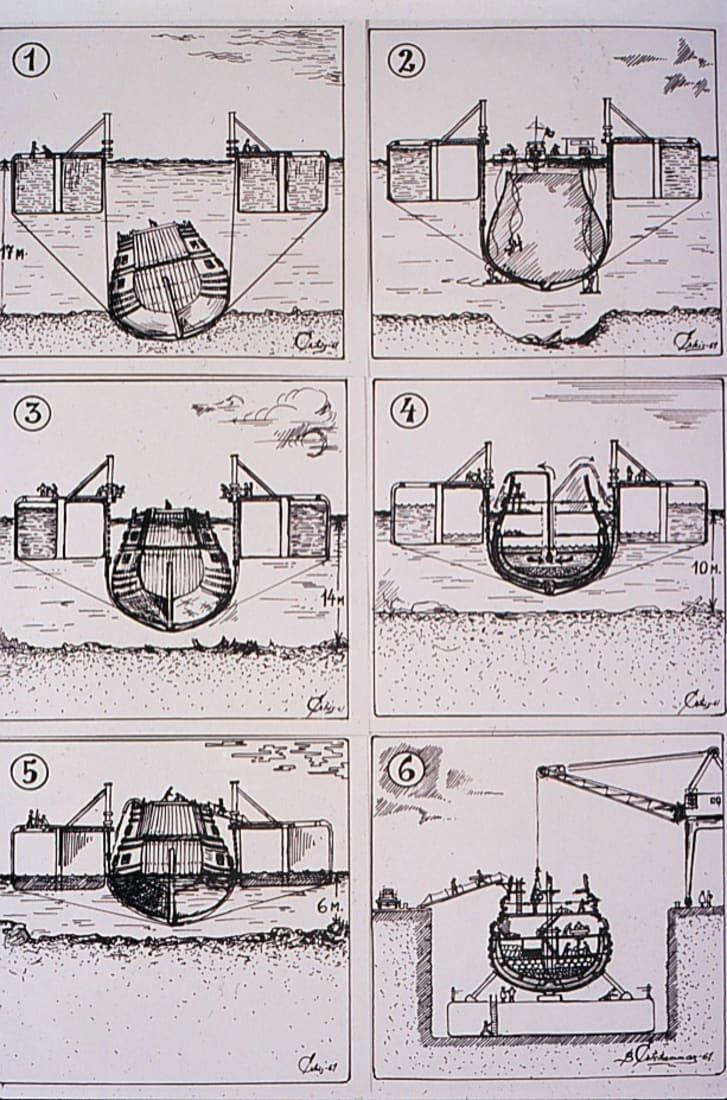 Vasa blueprints