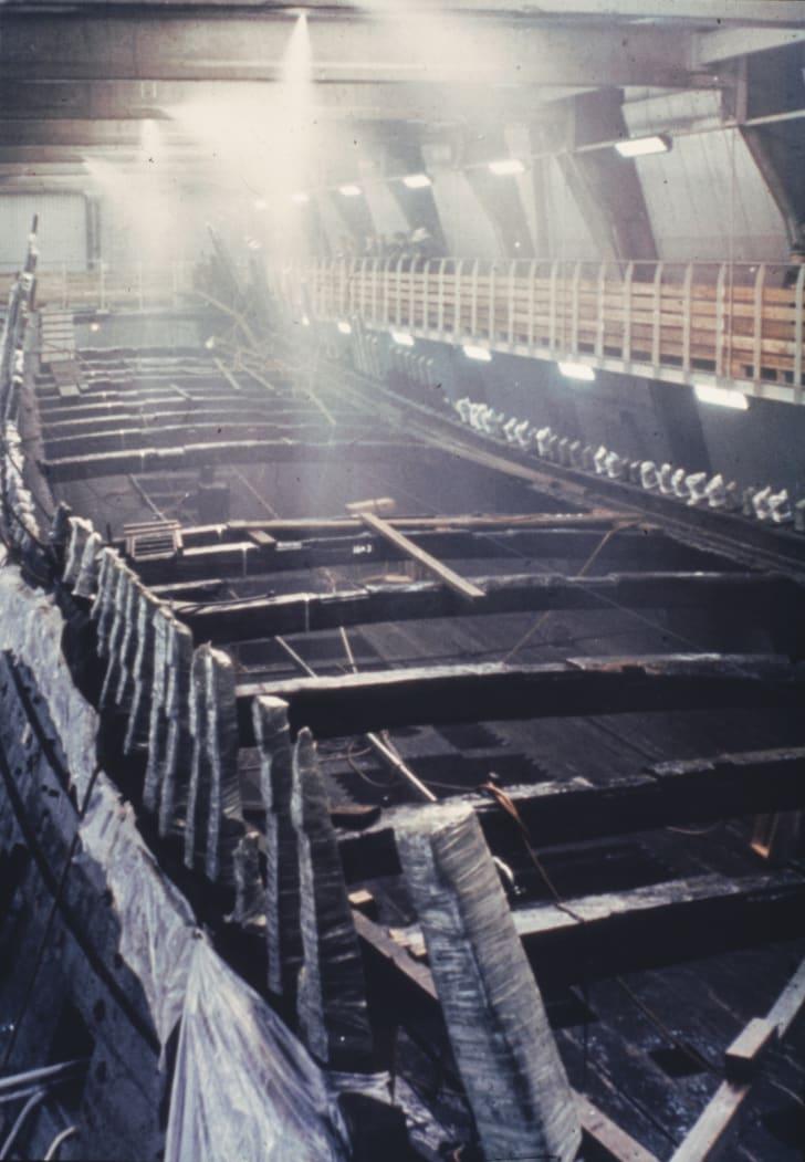 Vasa preserved in water