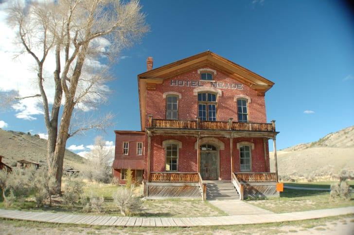 Hotel Meade in Bannack, Montana