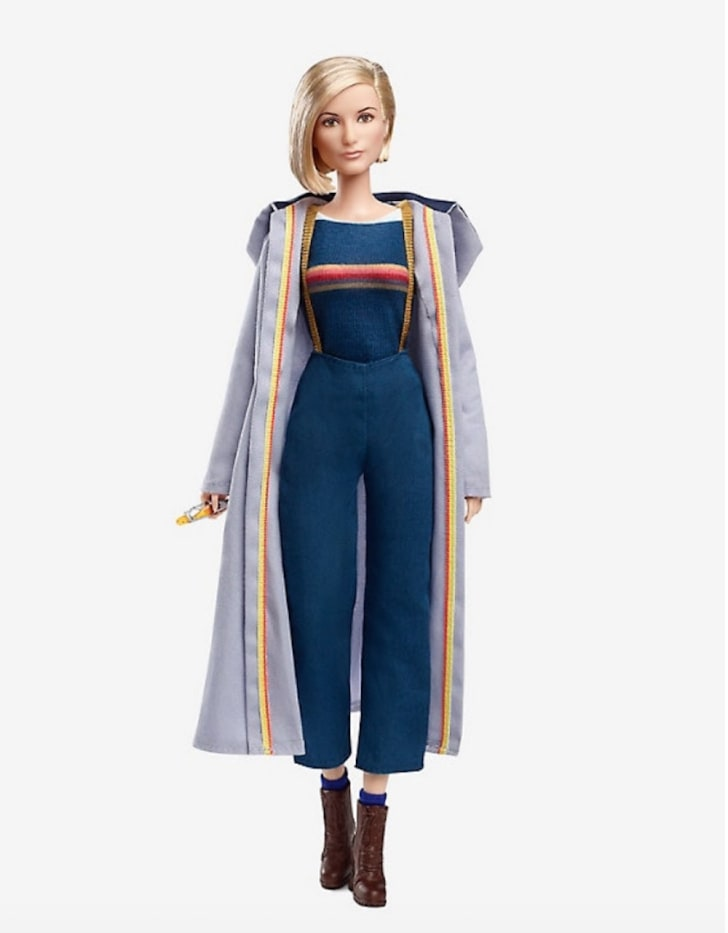 Doctor Who Barbie doll