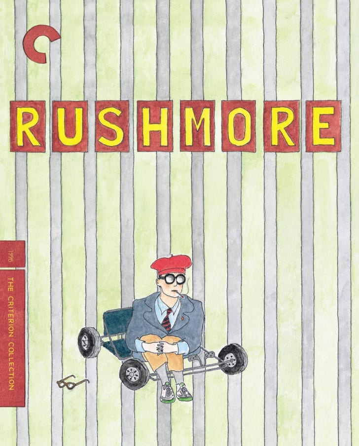 The Criterion Collection edition of 'Rushmore' (1998)