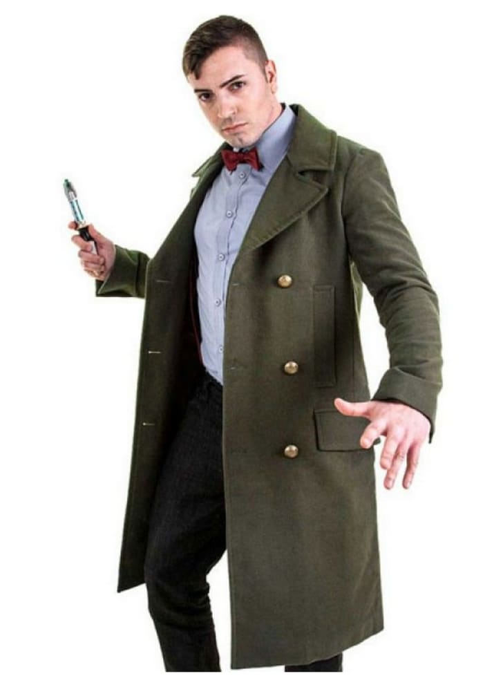 Doctor Who: Eleventh Doctor Green Coat