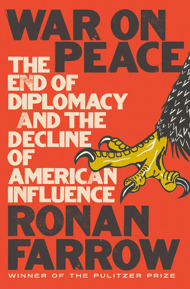 An image of the cover of the book War On Peace.