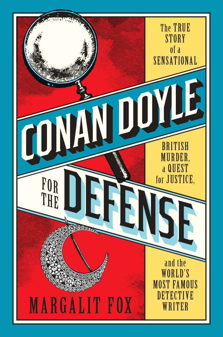 An image of the cover of the book Conan Doyle for the Defense.