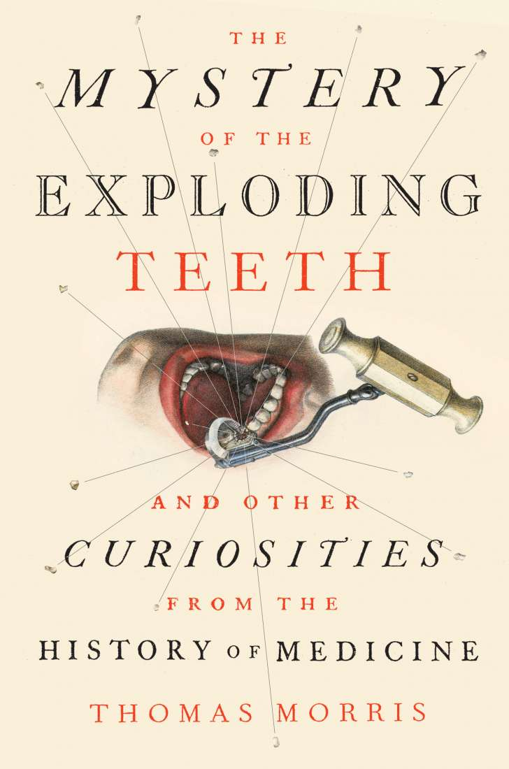 An image of the cover of the book The Mystery of the Exploding Teeth.