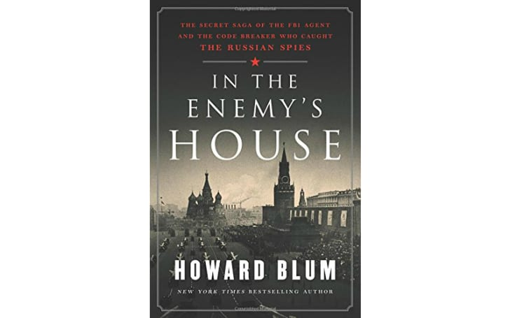 An image of the cover of the book In the Enemy's House.