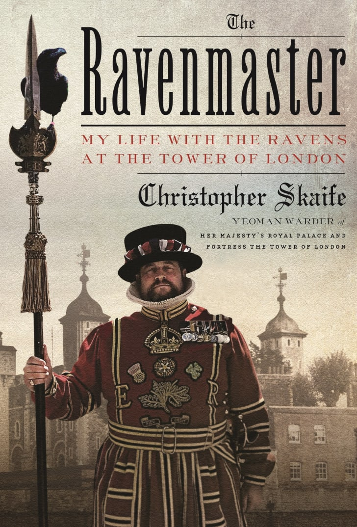 An image of the cover of the book The Ravenmaster.