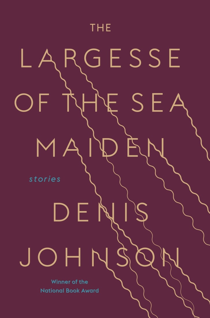 An image of the cover of the book The Largesse of the Sea Maiden.