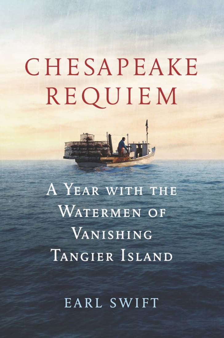 An image of the cover of the book Chesapeake Requiem.