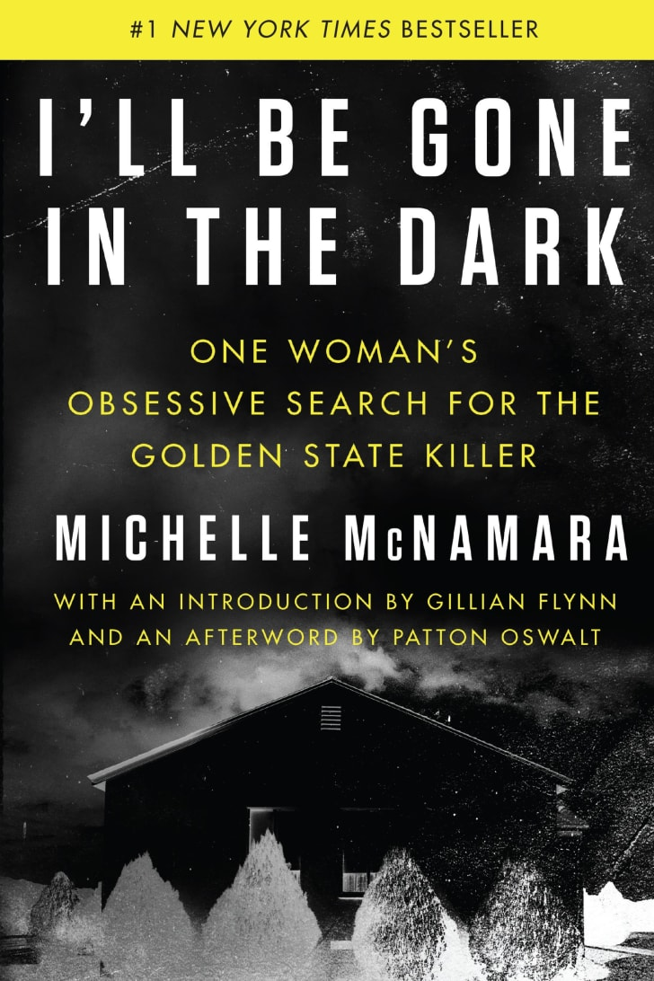 An image of the cover of the book I'll Be Gone in the Dark.