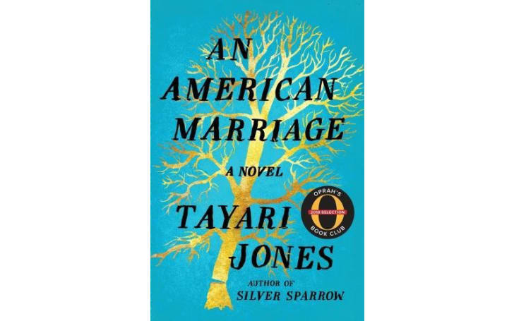 An image of the cover of the book An American Marriage.