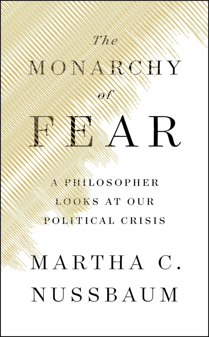 An image of the cover of the book The Monarchy of Fear.