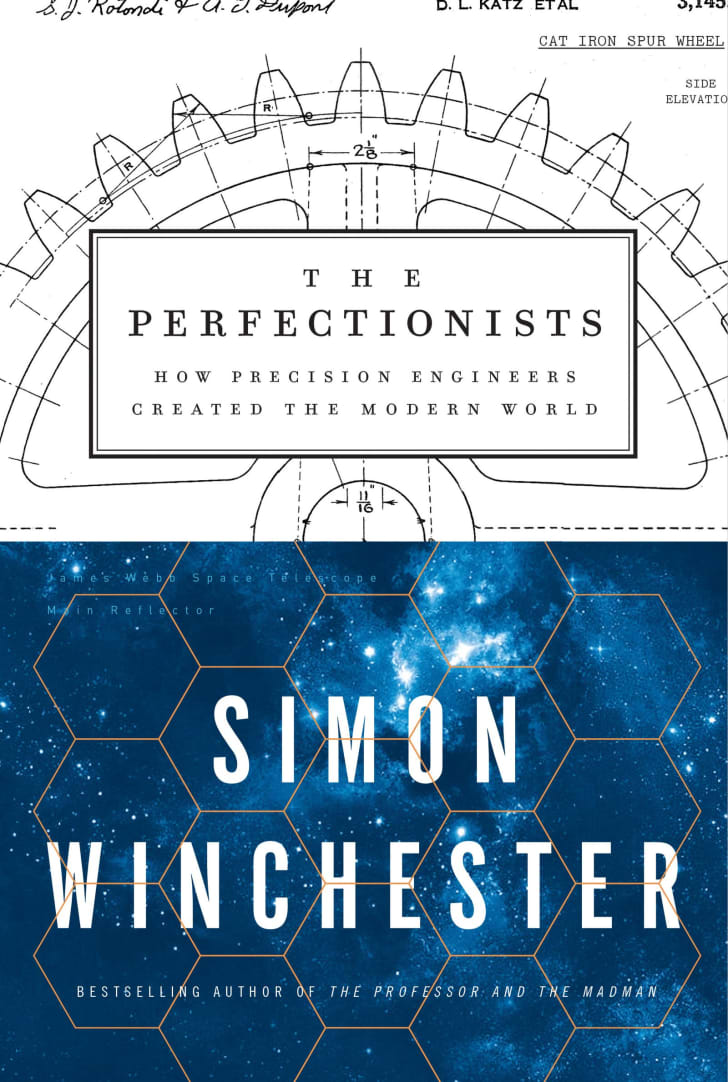 An image of the cover of the book The Perfectionists.