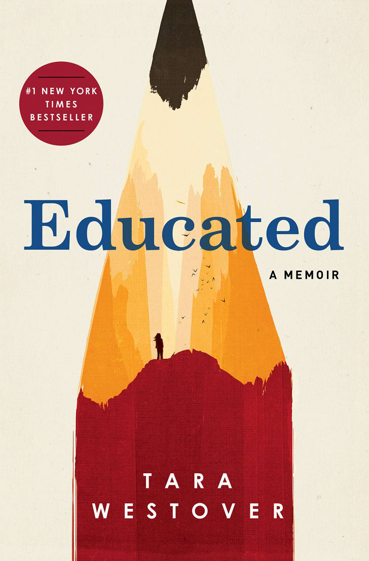 An image of the cover of the book Educated.